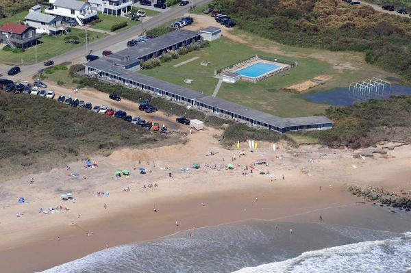 Montauk's East Deck Motel back on the market for $25M